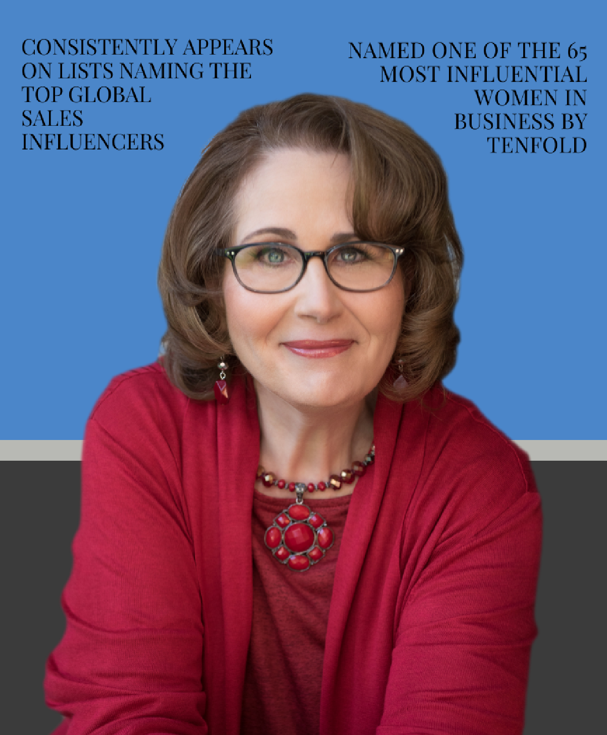 Headshot of Deb Calvert Named One of The 65 Most Influential Women in Business By Tenfold