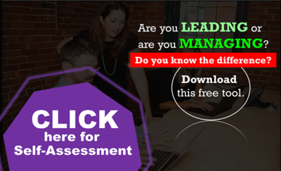 leader vs manager self assessment